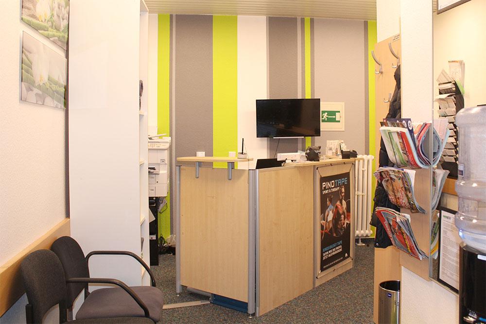 Einrichtung - Praxis für Physiotherapie Katrin Dau in 40591 Düsseldorf