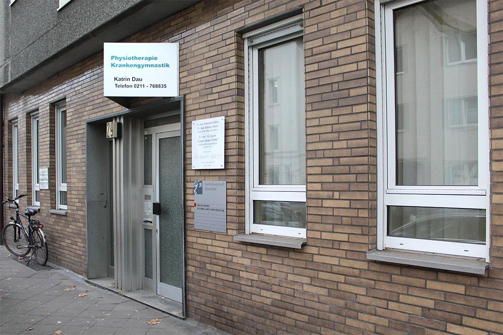 Außenansicht - Praxis für Physiotherapie Katrin Dau in 40591 Düsseldorf